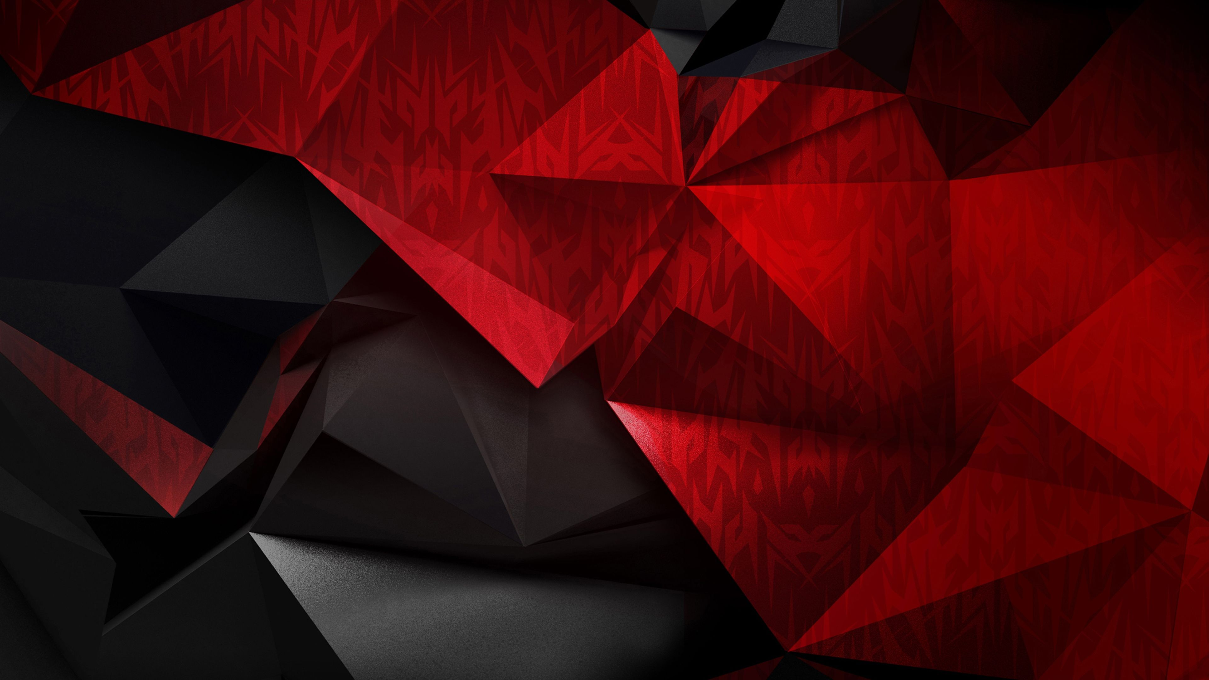 4K Red Abstract Background Acer Predator Logo 3840x2160 UHD Wallpaper