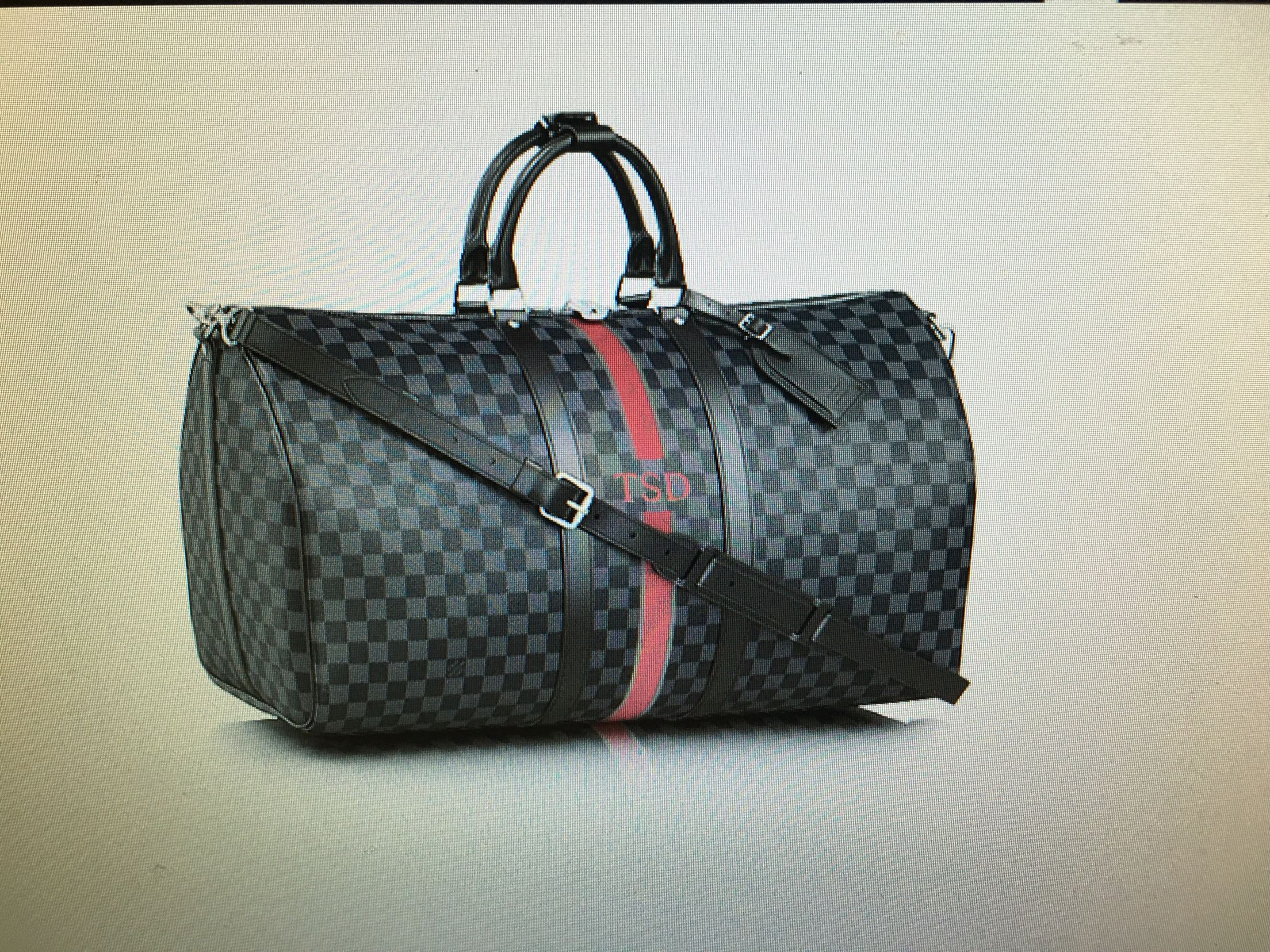 289ff10220eb Louis Vuitton Keepall Bandouliere 55