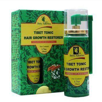 Deity Of Hair Tibet Tonic Hair Growth Restorer 1.7 Oz