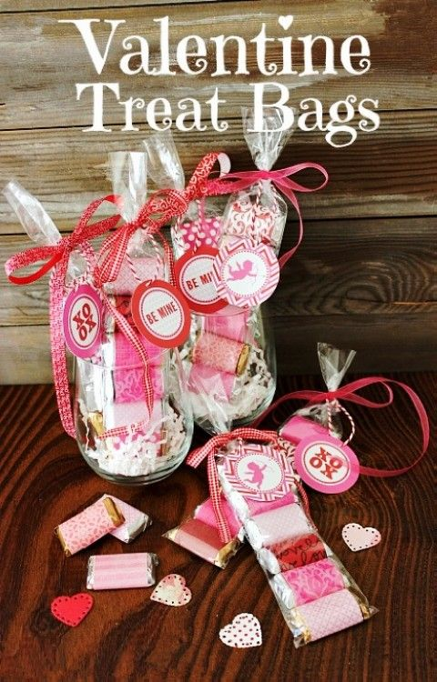 2014 Valentine S Day Treat Bags Valentines Day Food Gift Ideas