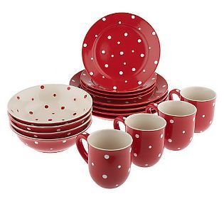 Polka dot dinnerware! Love it! This would be fun to have for a party.  sc 1 st  Pinterest & Polka dot dinnerware! Love it! This would be fun to have for a party ...