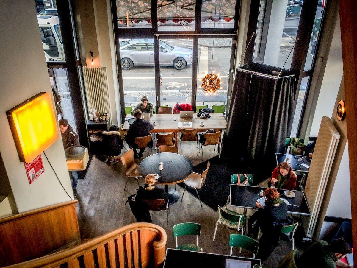 St Oberholz In Berlin Bar Caf Rosenthaler Strasse 72a