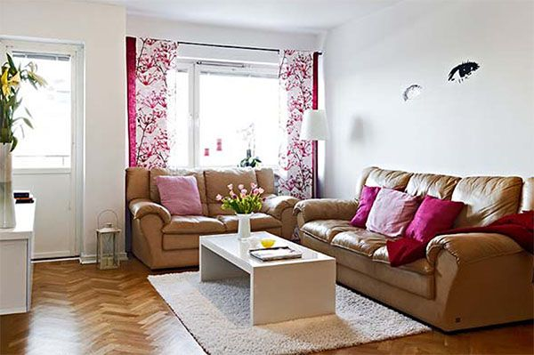 How To Make A Small Living Room Look Nice