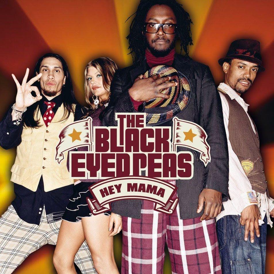 The Black Eyed Peas – Hey Mama (single cover art)