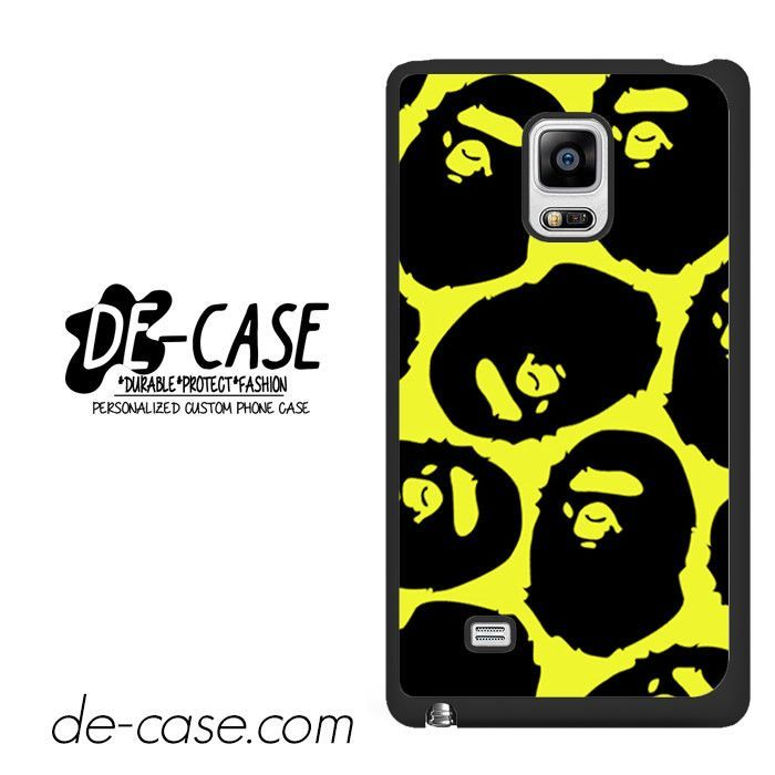 Yelow Bape DEAL-12132 Samsung Phonecase Cover For Samsung Galaxy Note Edge