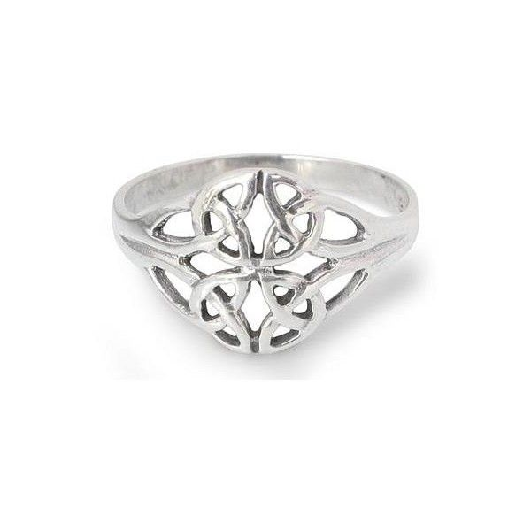 NOVICA Unique Sterling Silver Band Ring (€24) ❤ liked on Polyvore featuring jewelry, rings, band, sterling silver, celtic band ring, love knot jewelry, celtic love knot jewelry, celtic love knot ring and sterling silver jewellery