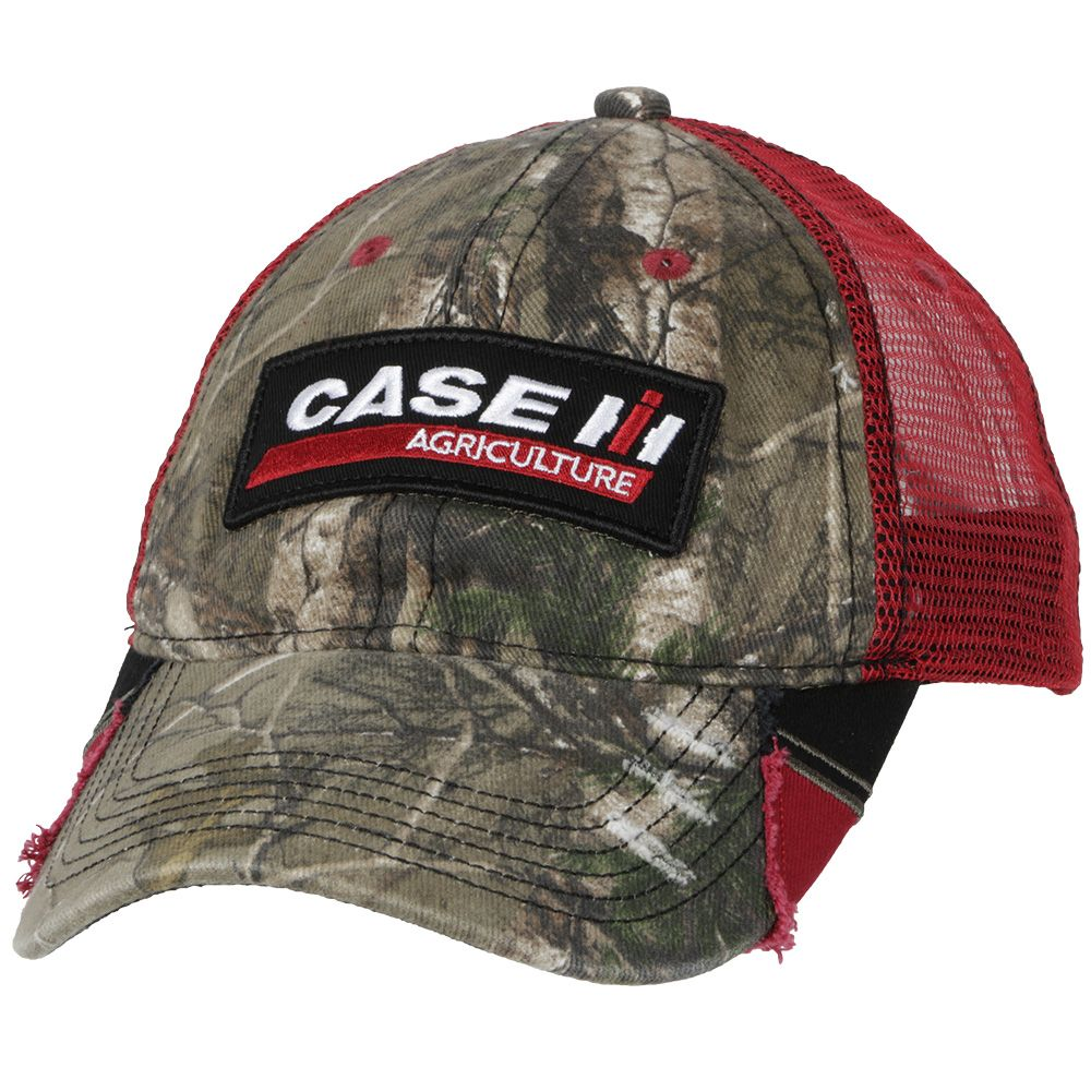 771d4f599 Case IH RealTree® Camo & Red Mesh Hat | Men's Accessories | Hats ...