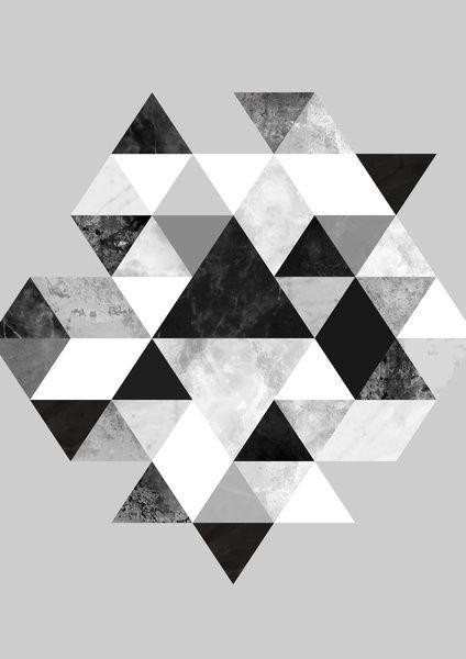 Graphic design art black and white  Graphic 202 Black and White Art Print | Hintergründe, Ideen für ...