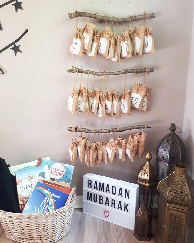 Ramadan Advent Calendar, DIY Advent Calendar, 30 days, NillyDahlia Muslim Parenting Vlogger #calendrierdel#39;aventdiy