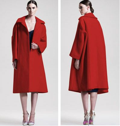 "jill sander coat | The Jill Sander ""Red coat""! This is one of the absolute must have ..."