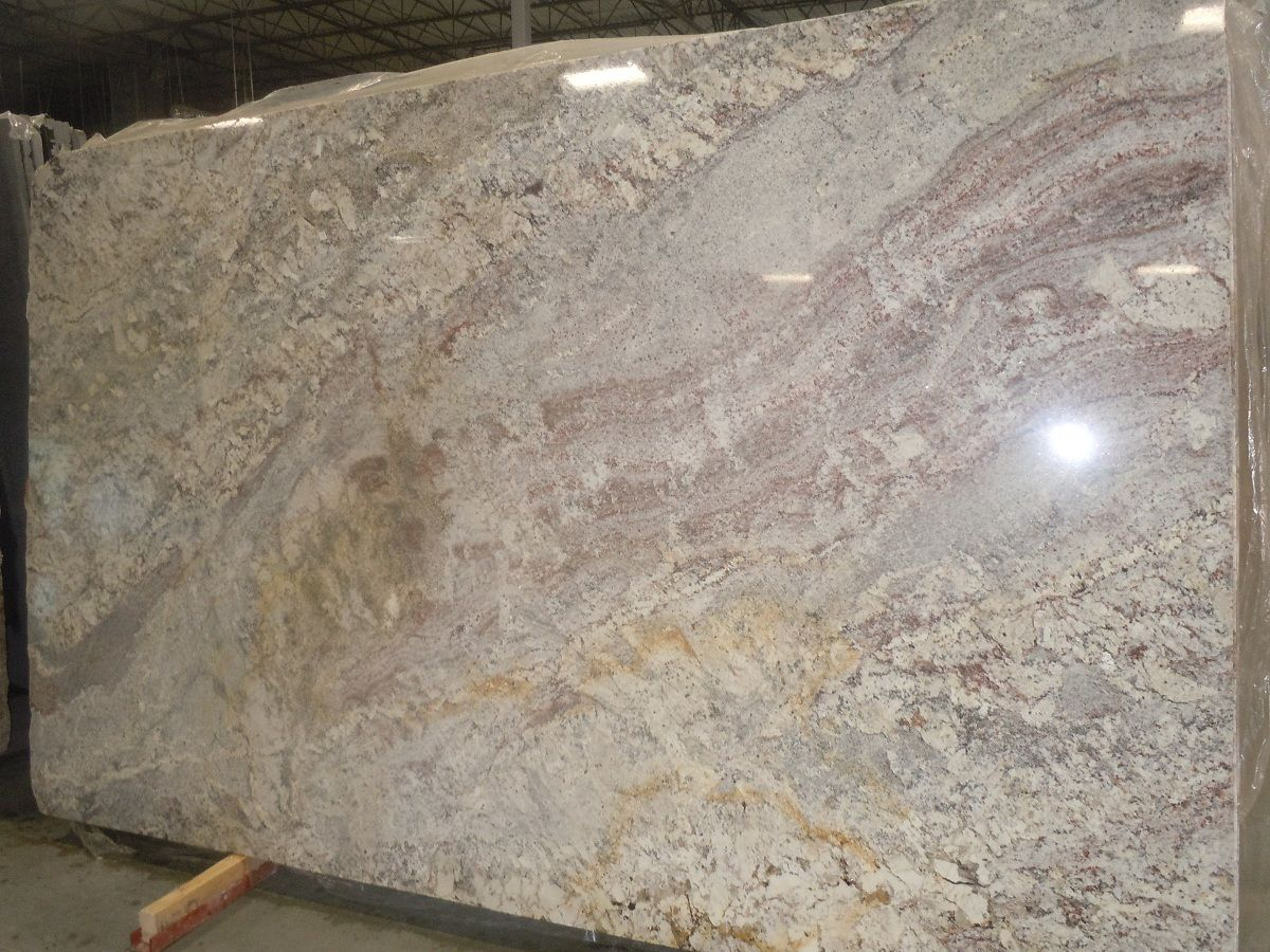 Beau White Springs Granite This Is In My Kitchen. Love It!
