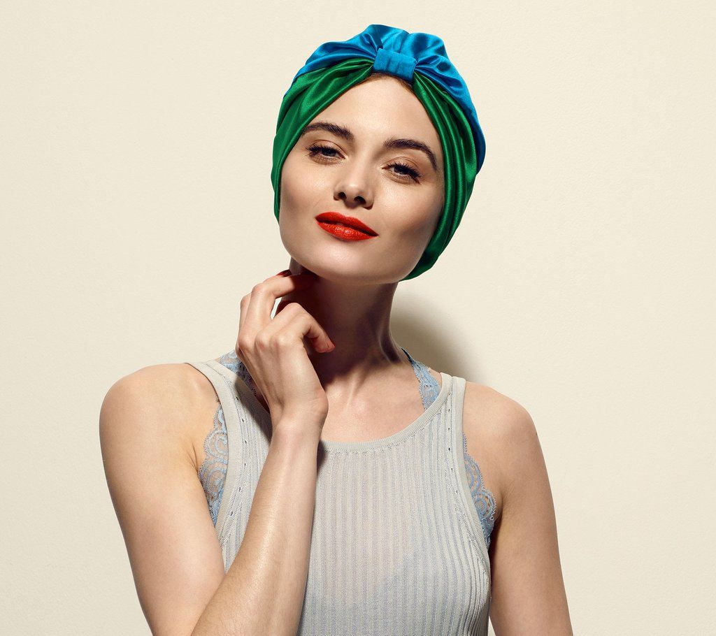 39+ Wrapping hair in silk scarf at night trends