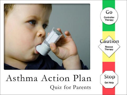 Asthma Action Plan Parent Quiz by Renuka Mehta Asthma Apps - sample asthma action plan