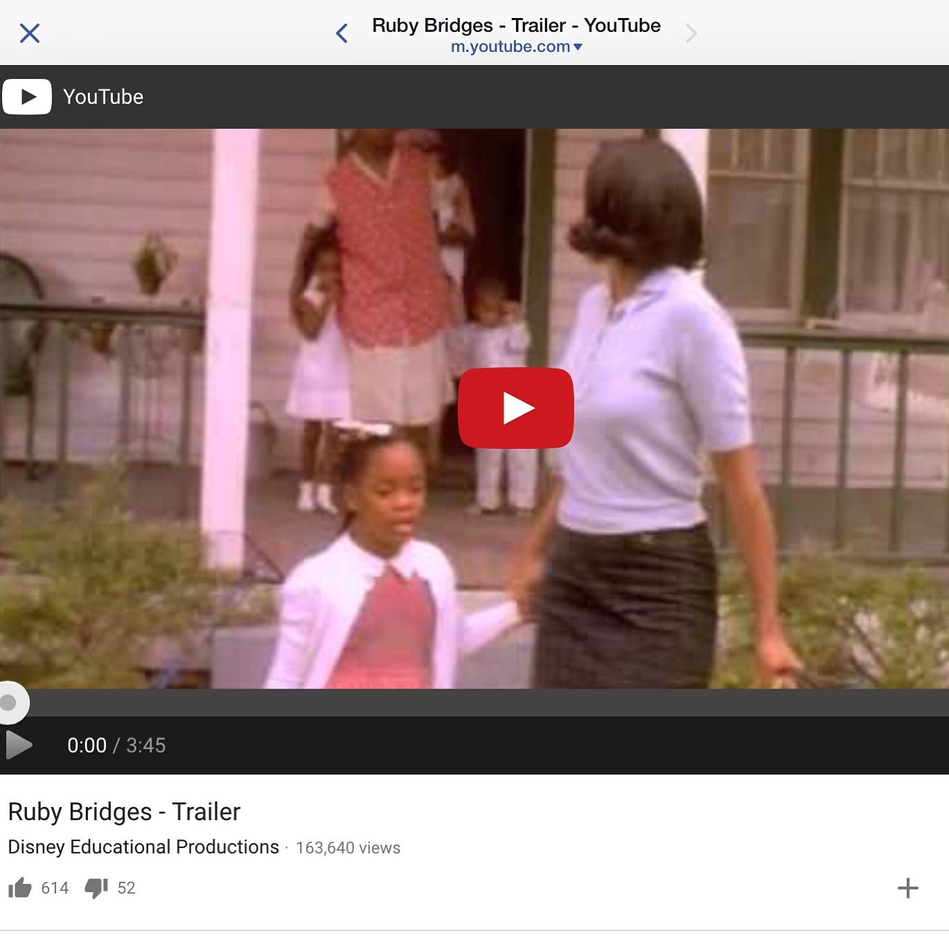 Ruby Bridges Freedom Award Honoree Was Taught In A