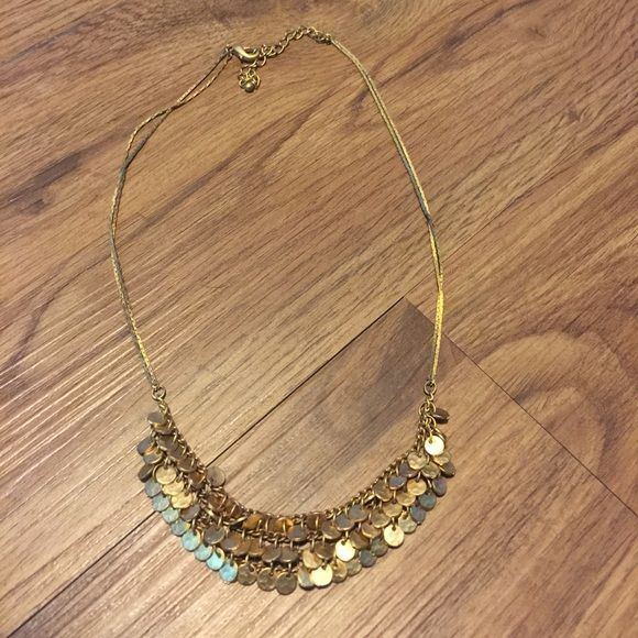 Anthropology Necklace Golden necklace (anthropologie) Anthropologie Jewelry Necklaces