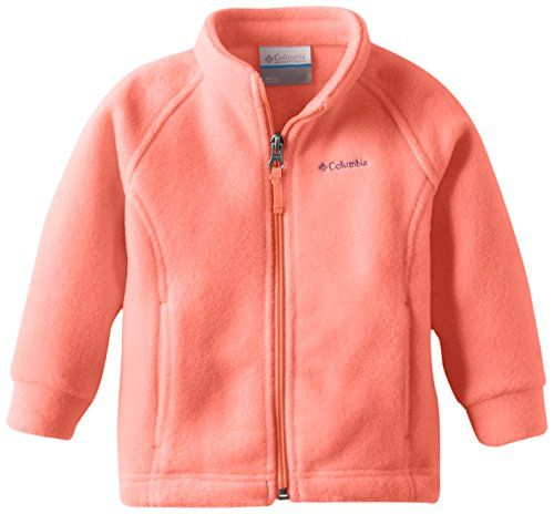 Columbia Baby-Girls Infant Benton Springs Fleece, Coral Glow, 18 ...