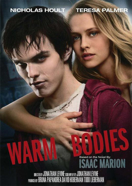 Parents need to know that, given the current popularity of zombie apocalypse stories, Warm Bodies should appeal to plenty of teens. With its Romeo and Juliet romance and appealing leads — not to mention a popular young adult book as its source material — the movie is aimed squarely at adolescent viewers.    http://www.empowernetwork.com/cubame/blog/warm-bodies-review/?id=cubame