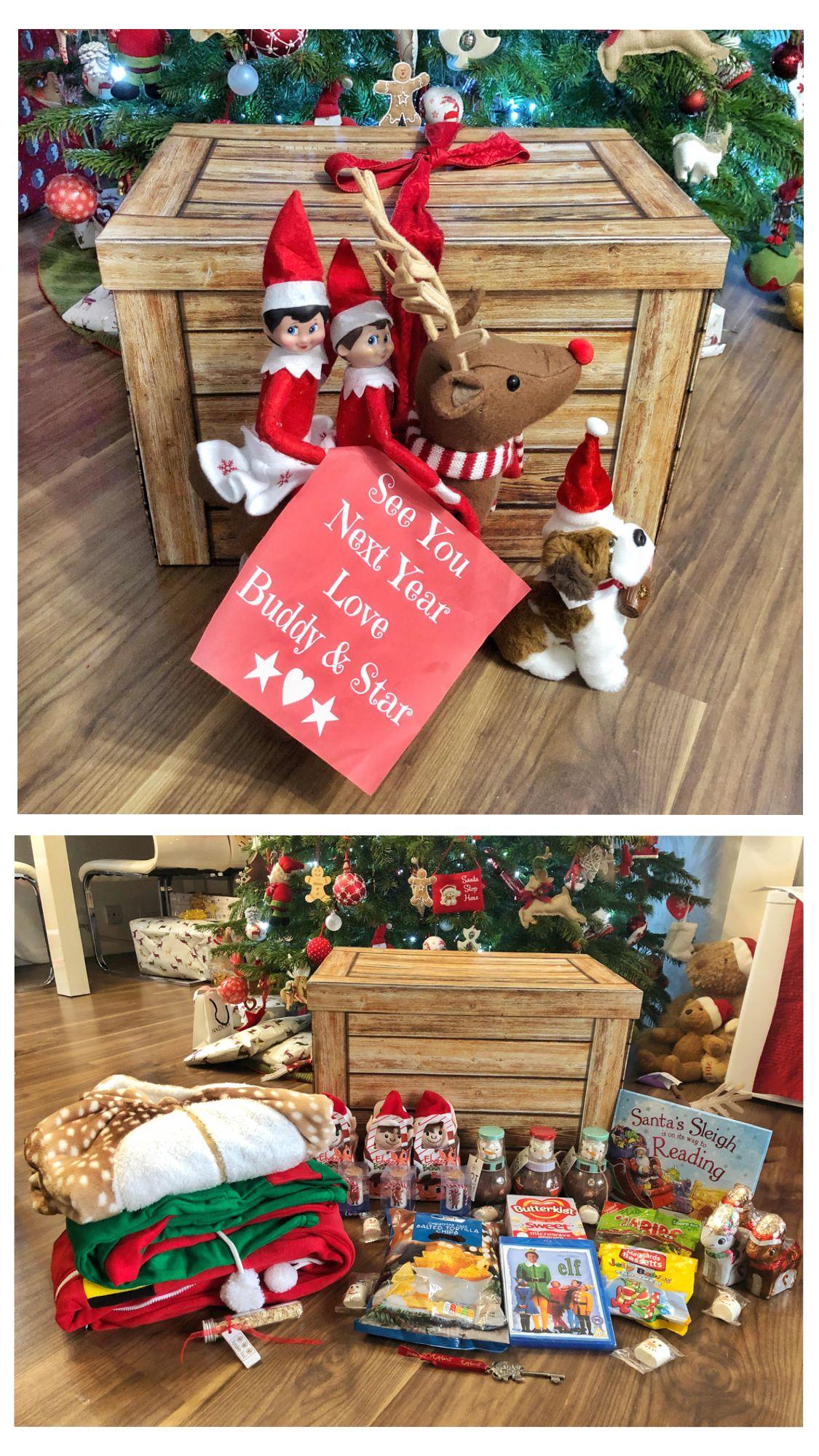 Christmas Eve box (Day 24 2018) Christmas elf