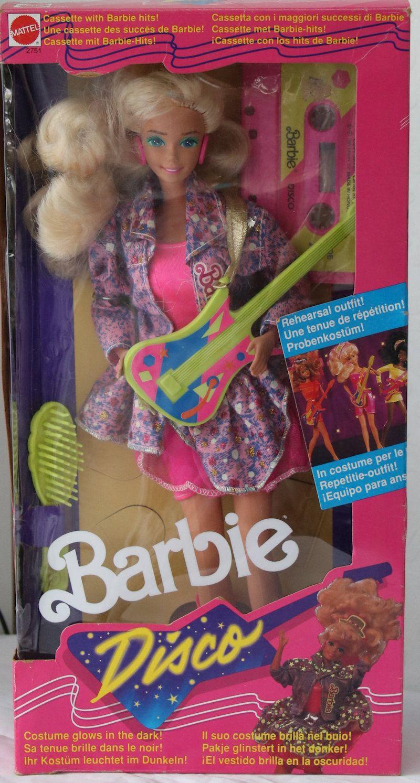 2751 1989 Disco Barbie Vintage Barbie Dolls Barbie Dolls 1980s Barbie Dolls