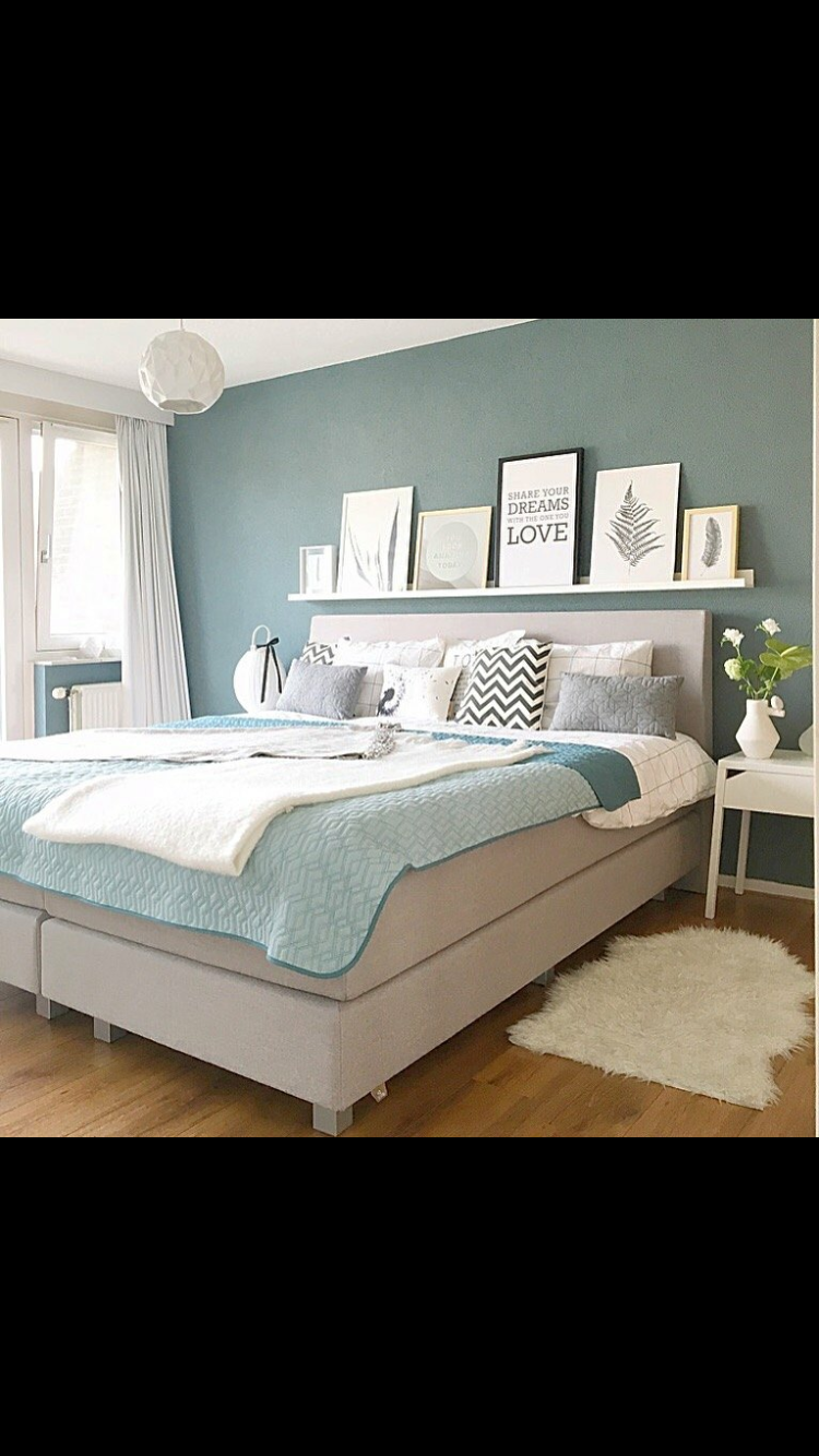 Farbe schlafzimmer   Zuhause in 2019   Bedroom, Bedroom inspo und ...