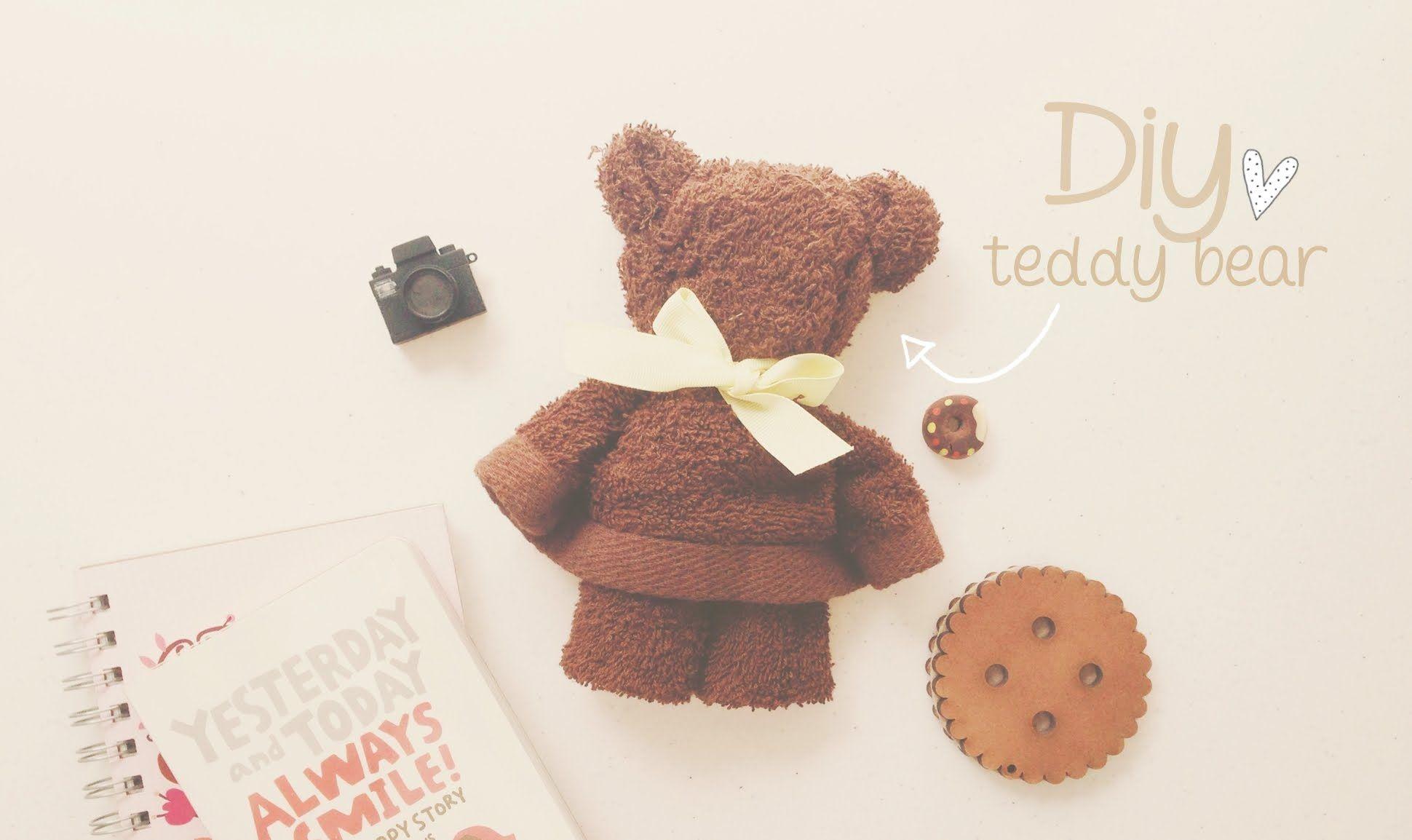 diy osito con toalla teddy bear fiestas diy pinterest handt cher geschenke y baby. Black Bedroom Furniture Sets. Home Design Ideas