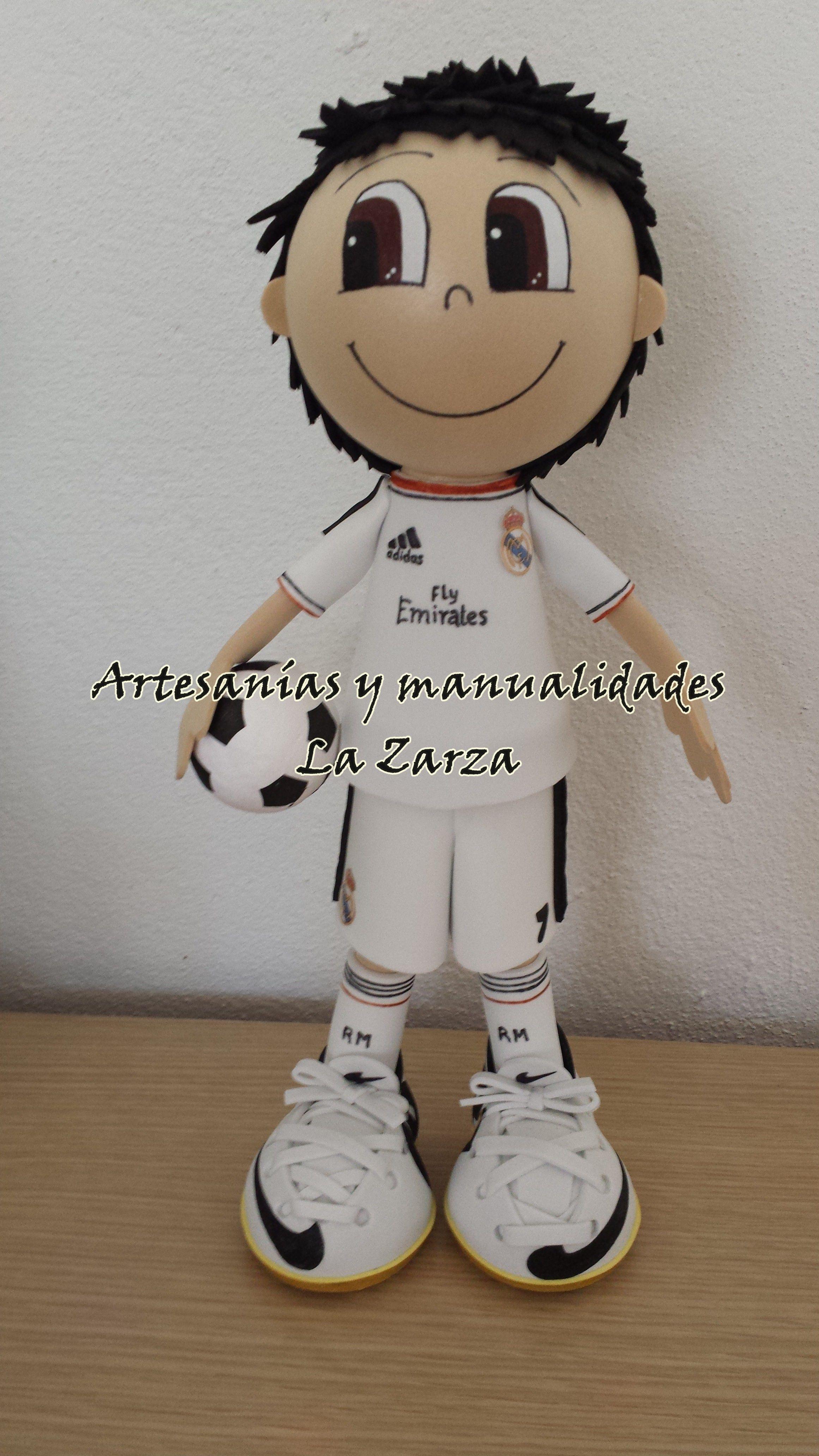Real Madrid Artesanías y Manualidades La Zarza | dekorgumi focista ...