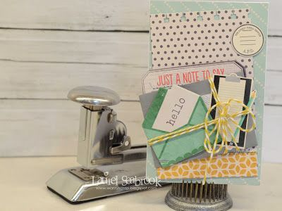 Seabrook Designs: A couple of just because cards