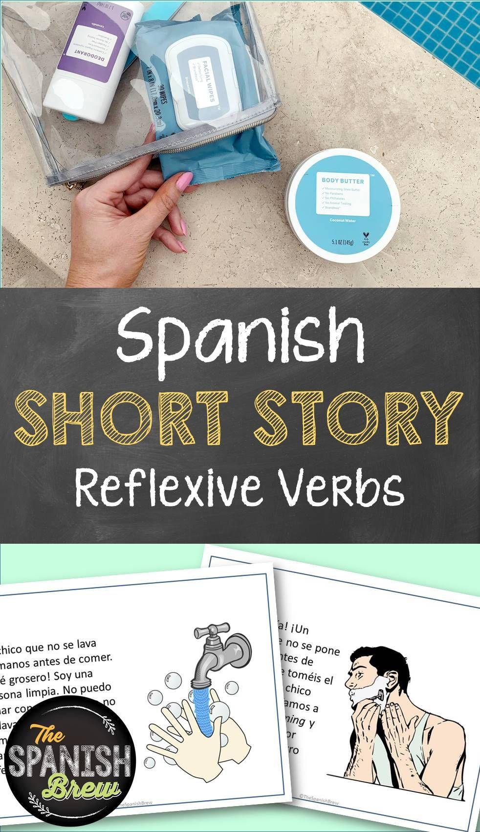 Tprs Spanish Short Story Using Reflexive Verbs Spanish Reading Comprehension Spanish Reading Language Activities [ 1700 x 982 Pixel ]