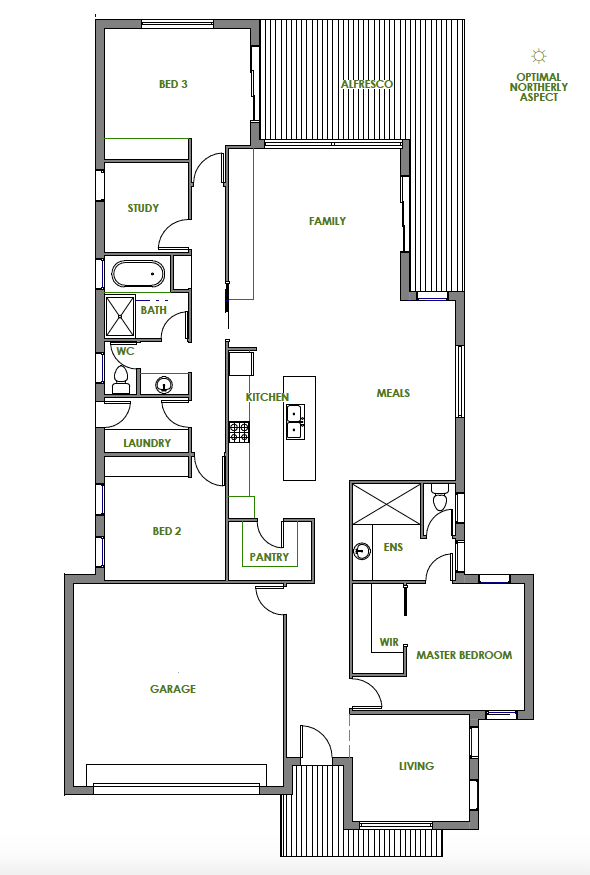 The Katherine Offers Wonderful Energy Efficient Design Features This Home Is An Arc Energy Efficient House Plans House Plans Australia Energy Efficient Design