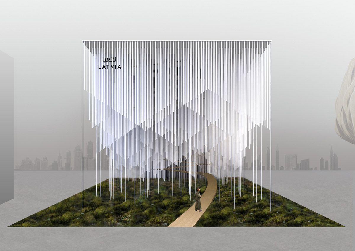 Malitis Architects Creates Sounding Smart Forest For Latvian