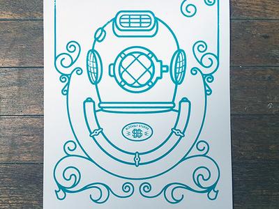 Aqua Lung - Test Print