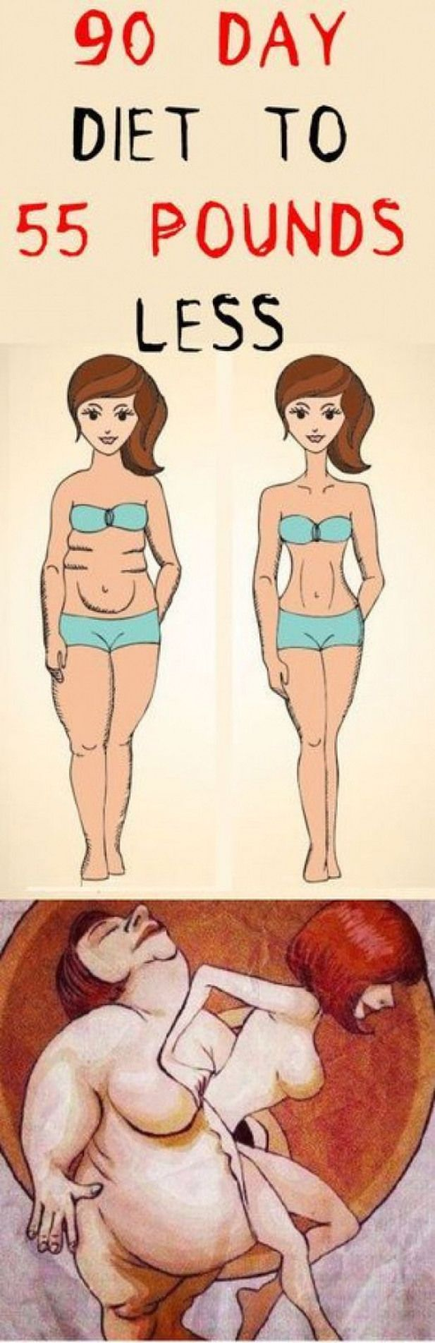 90 DAY DIET TO 55 POUNDS LESS #fitness #beauty #hair #workout #health #diy #skin #dietplanstolosewei...