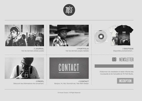 Image gallery minimalist websites for Minimalist living websites