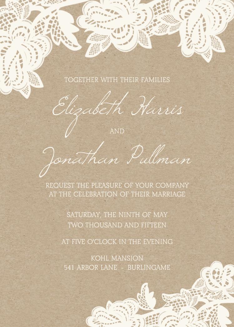 Rustic Lace | Wedding, Wedding and Fairytale weddings