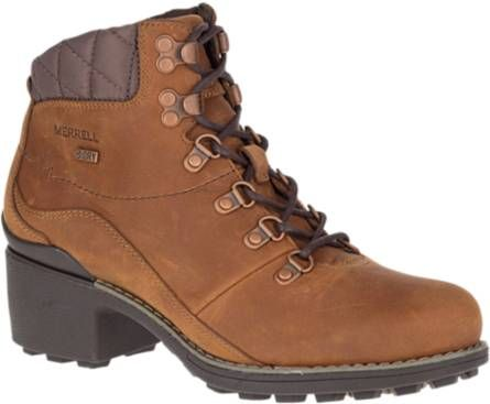 Discount 2018 Newest Cheap Price Free Shipping Merrell Chateau Mid Lace Waterproof Bootie(Women's) -Dusty Olive Leather Buy Cheap Official For Sale Discount Sale Purchase vWnbnpa6lh