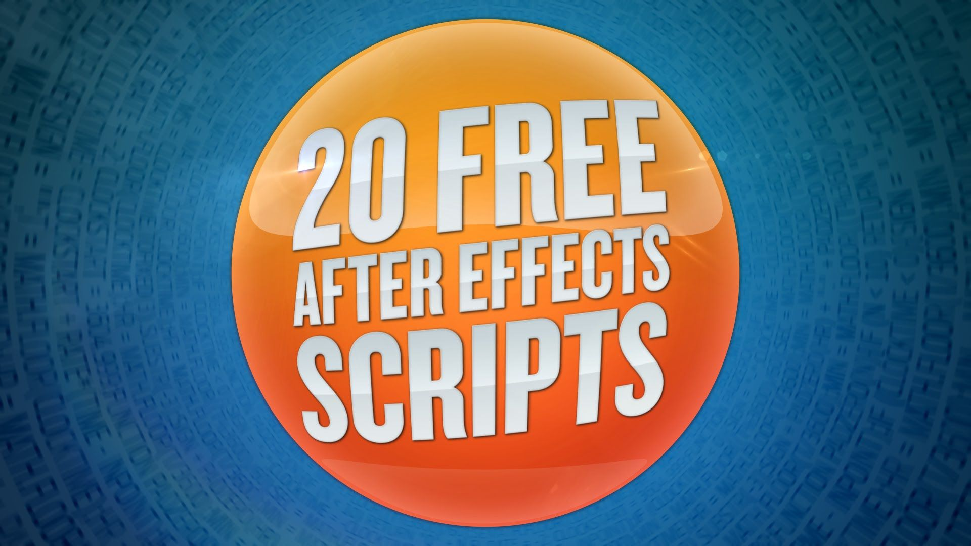 Jeff Almasol from http://redefinery.com has made a bundle of 50 After Effects scripts available for free at http://redefinery.com/ae/rd_scripts/. These scrip...