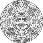 Calendario Azteca Vectores.Vector Calendario Azteca Corte Vinil Transfer Calendario
