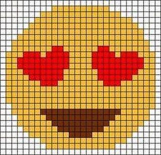 Formes de sourire (Emoji) Modèles et modèles de fibres   – Lif Modelleri