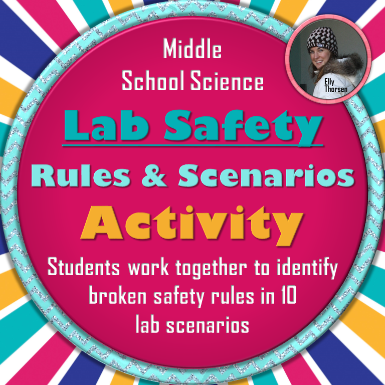 science lab safety rules and scenarios activity in english and spanish tpt science lessons. Black Bedroom Furniture Sets. Home Design Ideas