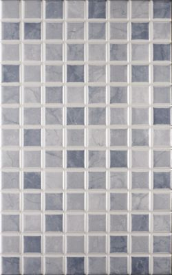 riva mosaic wall tile grey 250 x 400mm 10 pack homebase - Bathroom Tiles Homebase