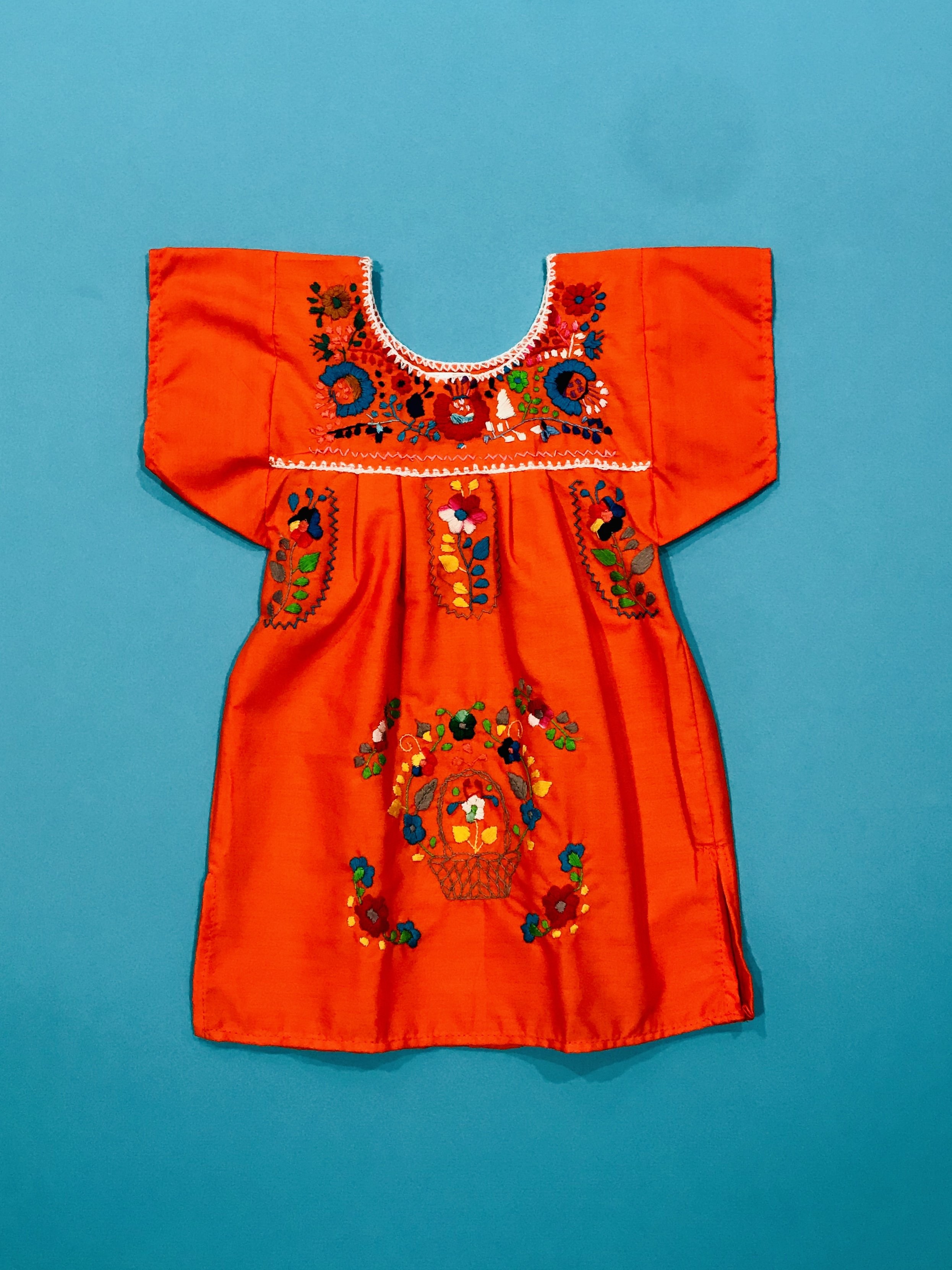 c6bce06ba NEW - Embroidered Girls Mexican Dresses : Size 12/24m | Products