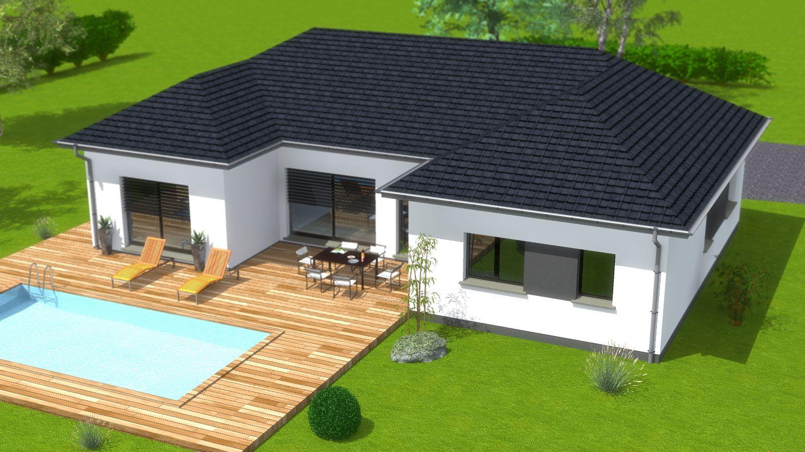 Constructeur Maison En Bois Loir Et Cher maison plein pied | maison plain pied, maison, construction
