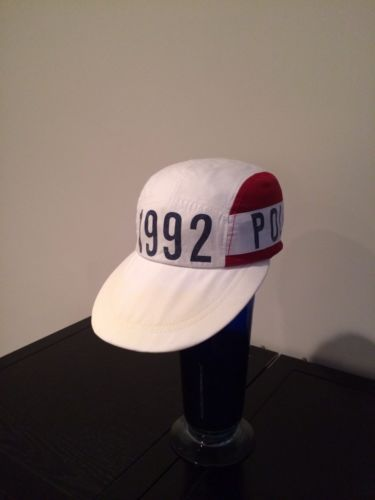 Vintage Polo Ralph Lauren 92 Stadium long bill hat.  6356a449345