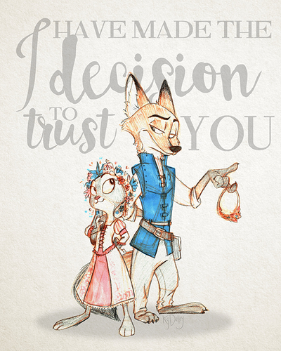 I Have Made the Decision to Trust You