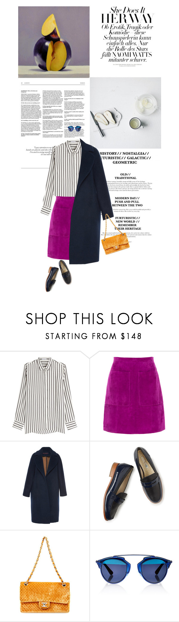 """""""Untitled #844"""" by homeless-drifter ❤ liked on Polyvore featuring Brunello Cucinelli, L.K.Bennett, Martin Grant, Boden and Christian Dior"""