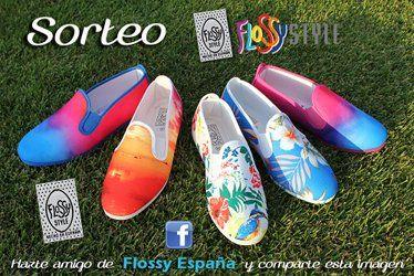 Sorteo Zapatillas Flossy  http://www.unabuenarecomendacion.com/index.php/complementos-y-regalos/ropa-y-calzado/4475-sorteo-flossy-espana