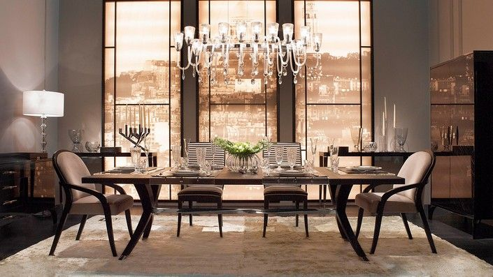 Superb Dining Room Trends Today  Feel The Wilderness Straight Alluring Luxury Dining Room Furniture Design Decoration