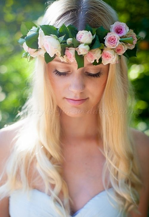 Floral Hair Pieces For Brides