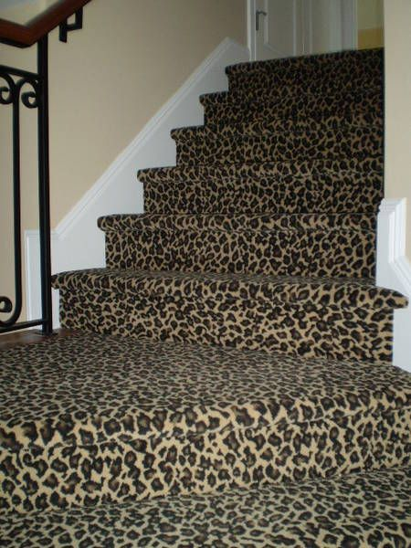 Best Leopard Carpet Stairs And Closet Leopard Carpet Wood 400 x 300