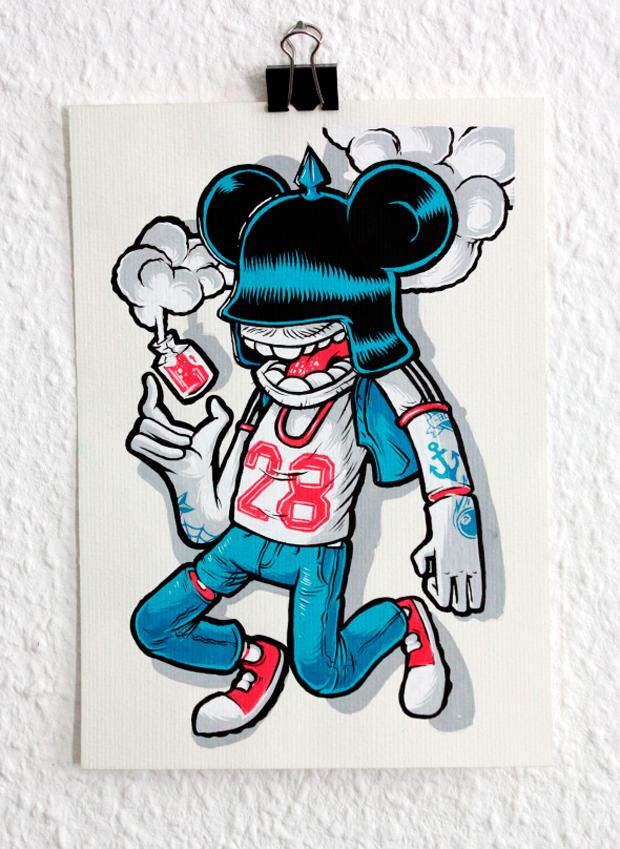 DeeDeeKid, influenciado por el skate y la cultura pop
